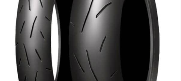 Neumático de moto dunlop alpha 13