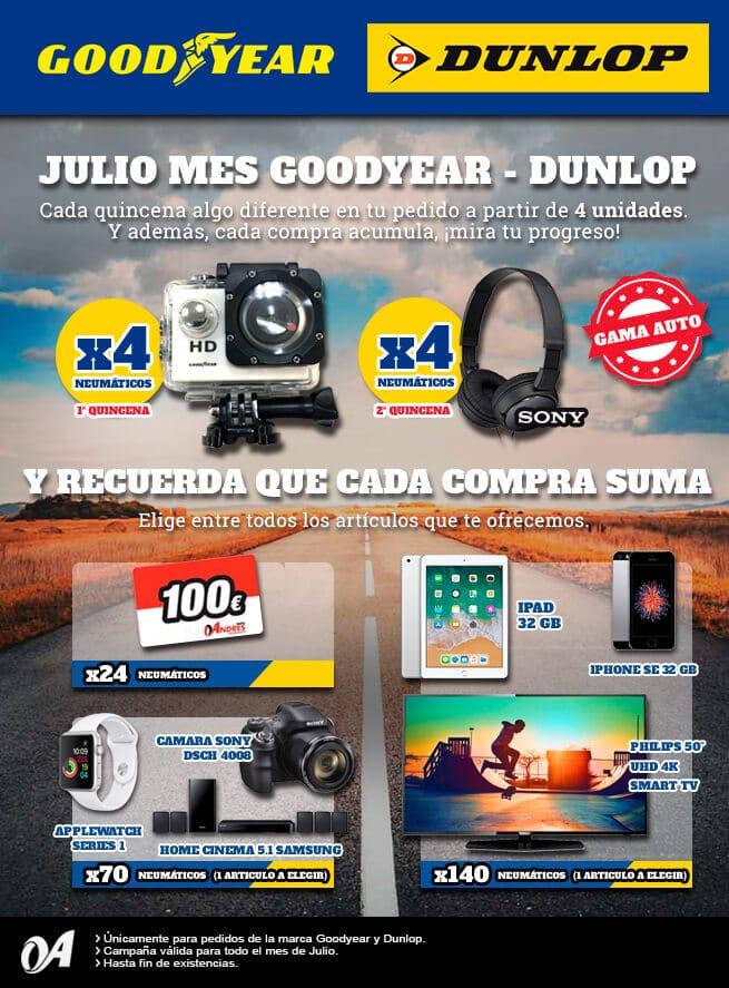 recompensas Grupo Andres Goodyear Dunlop