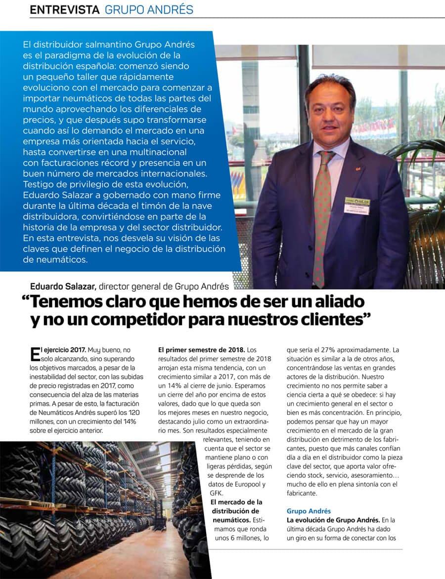 Entrevista-Eduardo-Salazar.-todoneumáticos-sector distribución neumáticos