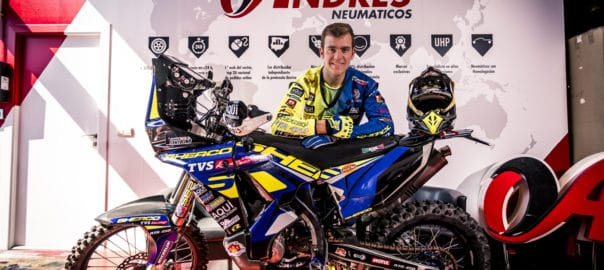 Neumáticos Andrés y Lorenzo Santolino Dakar (1)