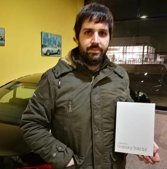 Ganador-Pedido-neumáticos-online-4-Millones-Grupo-Andrés-Automóviles-Santi-Crespo-Palencia