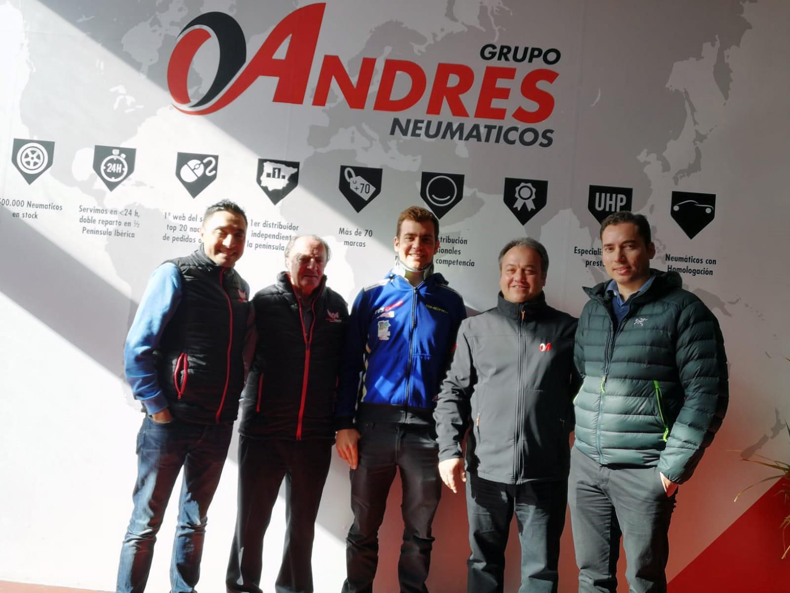 Santolino en Grupo Andrés