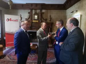 Grupo Andrés Awards Honorífico a la Universidad de Salamanca