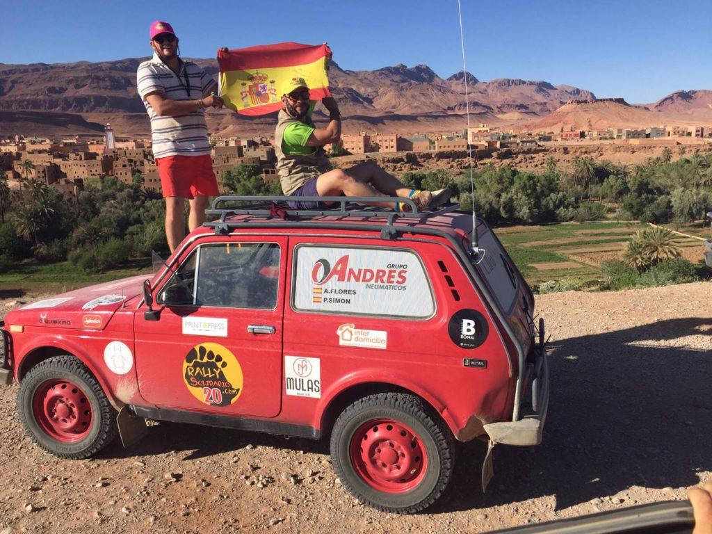 Rally Marruecos 2019 patrocino Grupo Andrés (3)