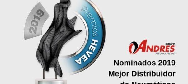 ok Nominado Premios Hevea 2019 Mejor Distribuidor de Neumáticos