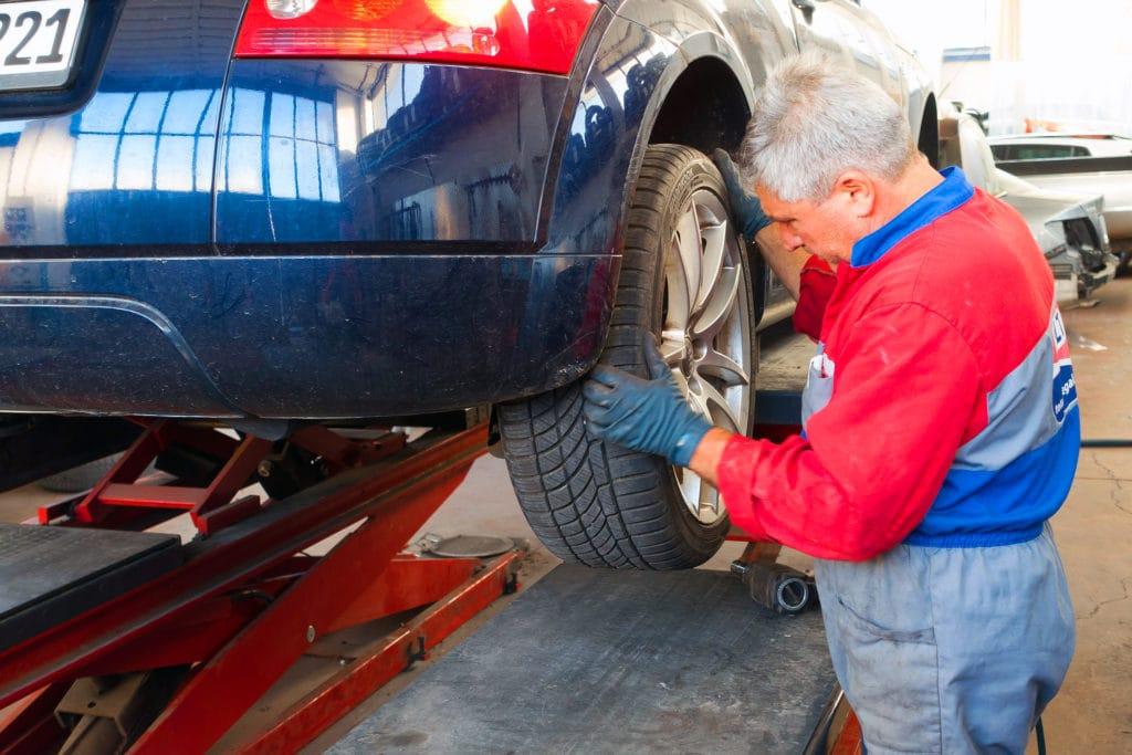 presión de los neumáticos auto-repair