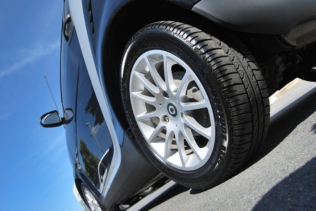 neumáticos antes de salir de viaje