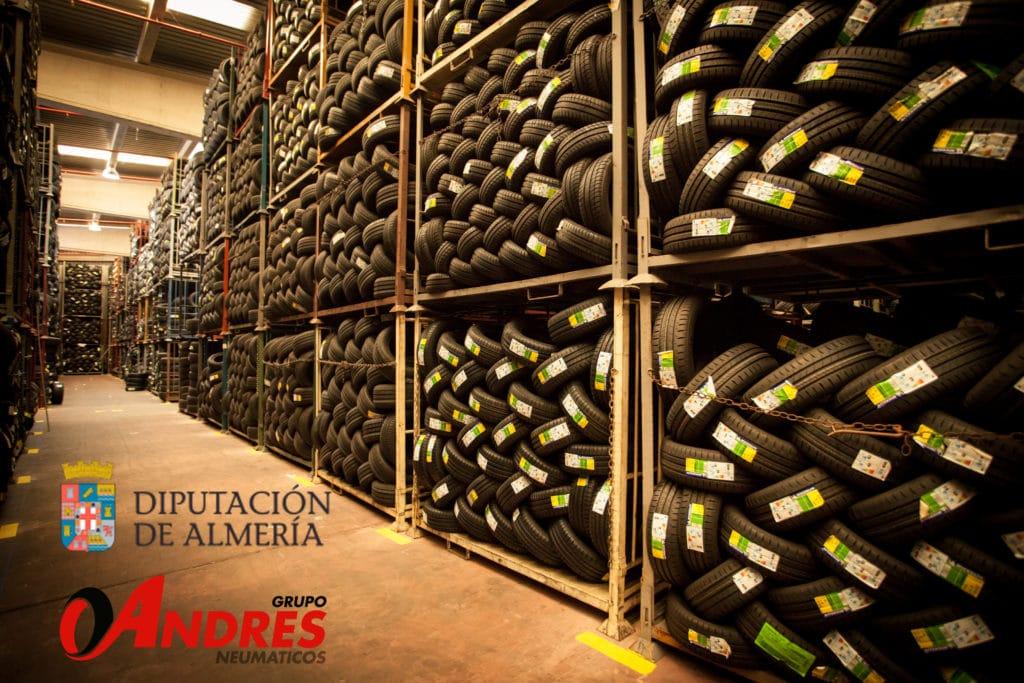 Almacen Grupo Andrés Diputación de Almería
