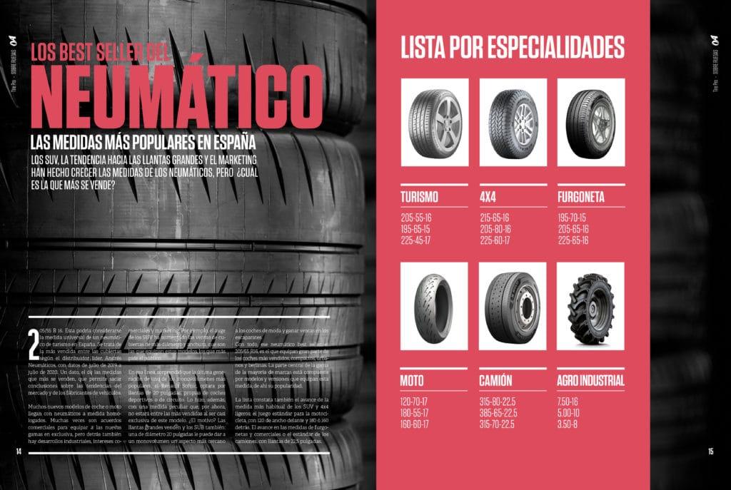 revista Neumáticos Tire Pro 10