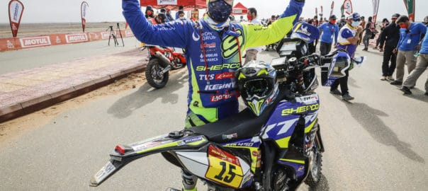 . Lorenzo Santolino en el Dakar 2021 Final (3)