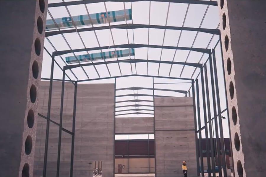 obras para la nueva sede central